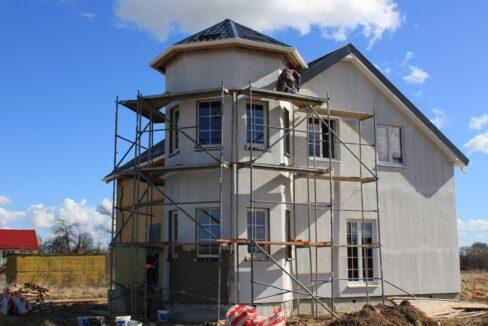 Строительство сип дома - завершение строительства - фото 039