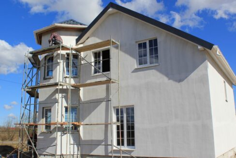 Строительство сип дома - завершение строительства - фото 040