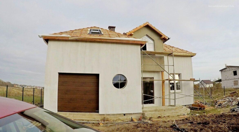 Этапы строительства дома из SIP панелей. Идут отделочные работы - фото 25