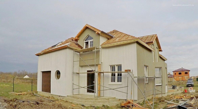 Этапы строительства дома из SIP панелей. Идут отделочные работы - фото 28