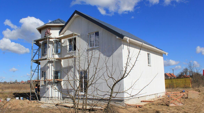 Строительство сип дома - завершение строительства - фото 042