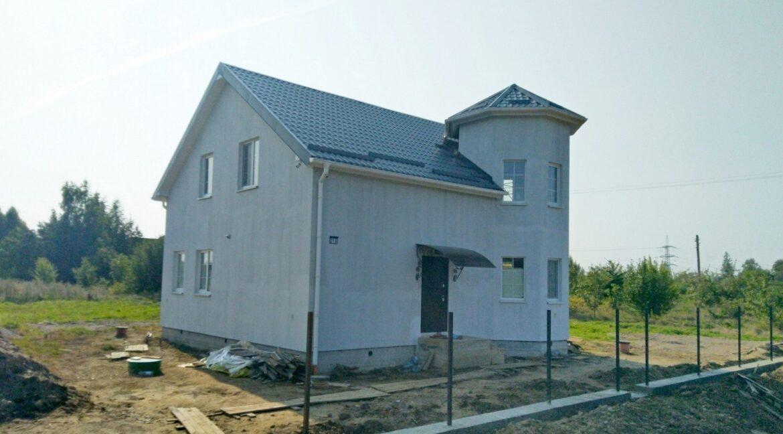 Строительство сип дома - завершение строительства - фото 043