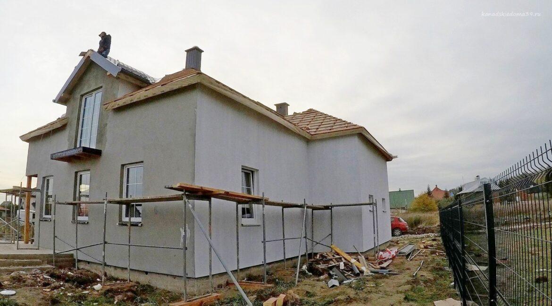 Этапы строительства дома из SIP панелей. Идут отделочные работы - фото 30