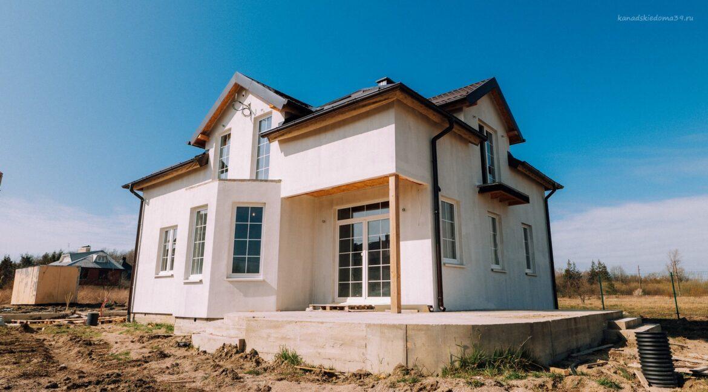 Фото дома из сип панелей в Малиновке Калининградской области- фото 31