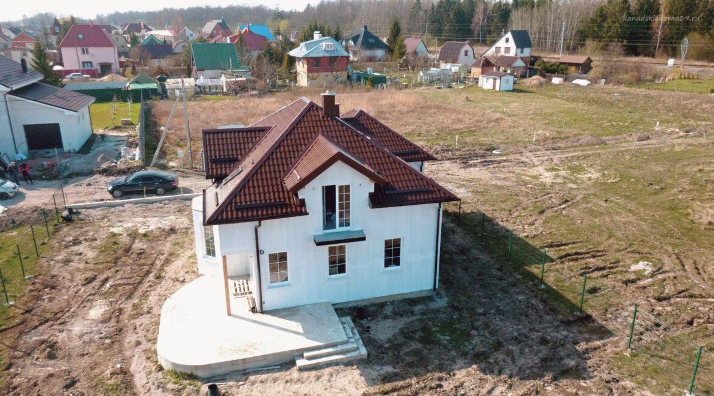 Фото дома из сип панелей в Малиновке. Вид сверху - фото 33