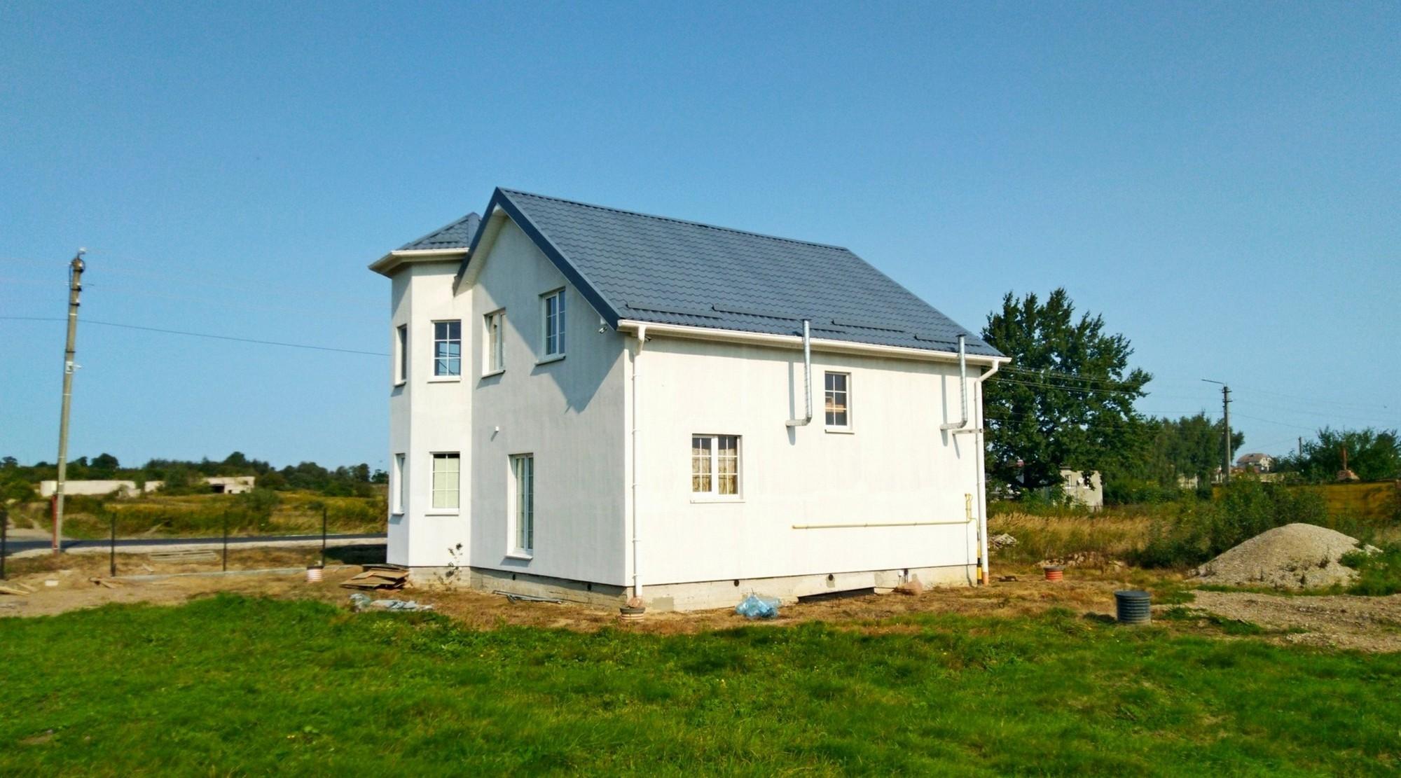 Дом из сип панелей в Советске по индивидуальному проекту