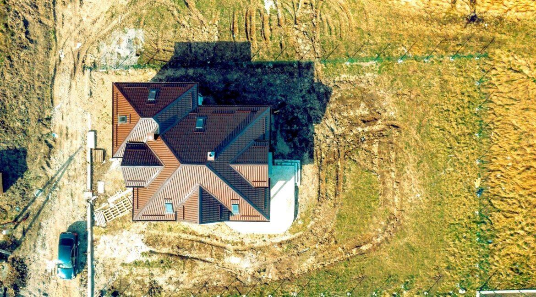 Дом из сип панелей в Малиновке. Вид сверху - фото 34
