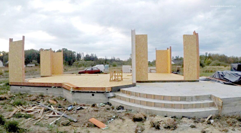 Этапы строительства сип дома. Угловые конструкции.. - фото 6