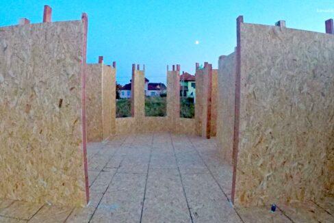 Этапы строительства сип дома. Первые стены.- фото 7
